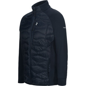 Peak Performance M's Helium Down Hybrid Jacket Salute Blue